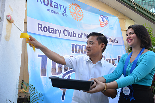 Rotary, Muntinlupa LGU build more public restrooms