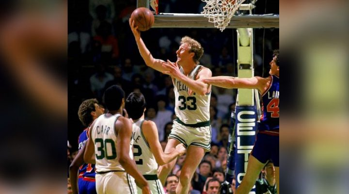Larry Bird: 'Best Sharpshooter cager of All Time'