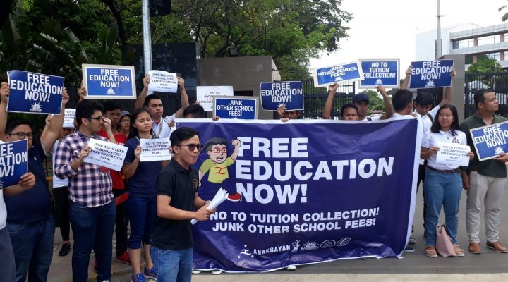 IRR sa free tuition fee