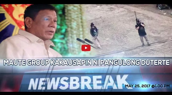 Maute Group, kakausapin ni Pangulong Duterte