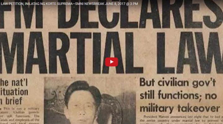 Martial Law petition, inilatag ng Korte Suprema