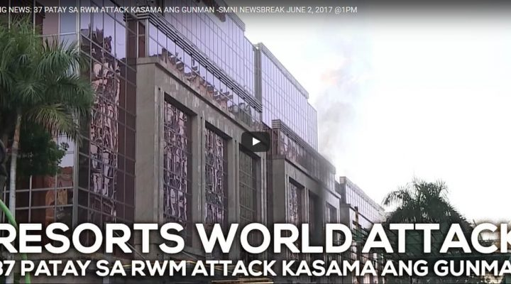 37 patay sa Resorts World attack, kasama ang gunman