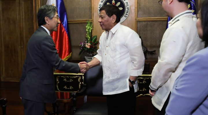 PRRD Meets with Ambassador of Japan to the Philippines