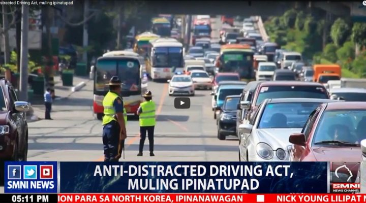 Anti-Distracted Driving Act, muling ipinatupad