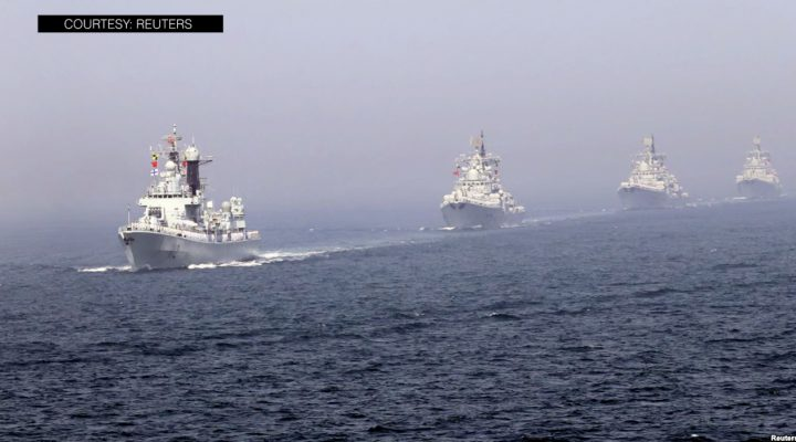 Russia at China, naglunsad ng kauna-unahang joint military exercise sa Baltic Sea
