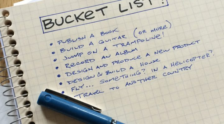 'You Only Live Once:' Bakit may Bucket List?