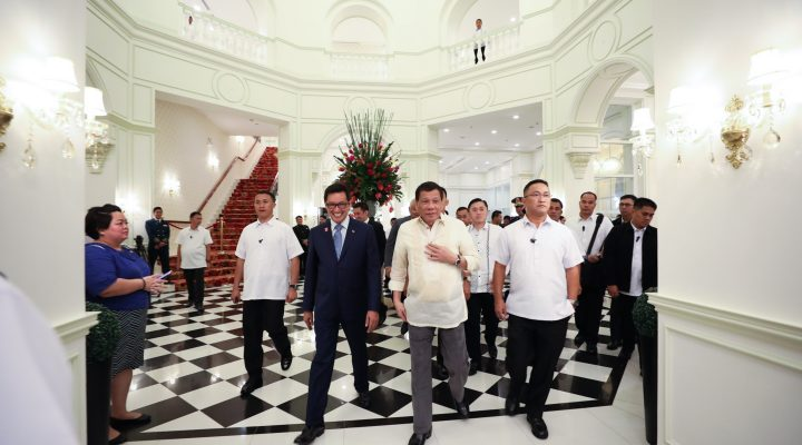PRRD at the Grand Opening of the Rizal Park Hotel