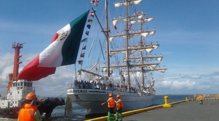 Mexican navy ship, nasa bansa para sa 5-day goodwill visit