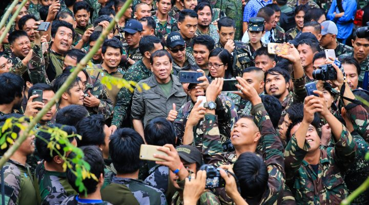 PRRD Visits Marawi City