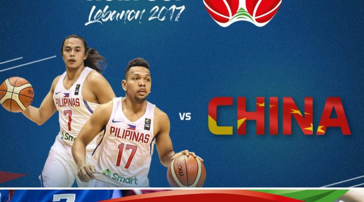 Gilas Pilipinas, big win laban sa defending champion China sa FIBA Asia Cup