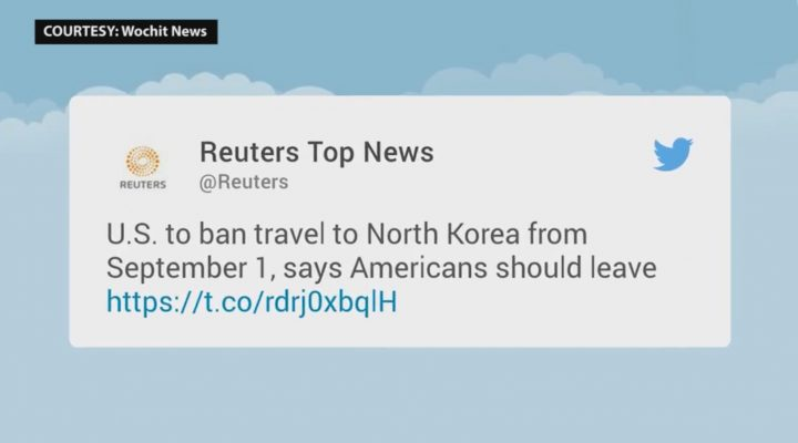 Travel ban sa North Korea, sisimulan na sa September 1