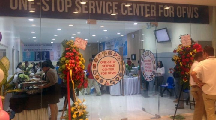 OFW one-stop center, inilunsad sa Davao