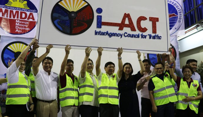 Mas pinaigting na Inter-Agency Council for Traffic o I-ACT, muling inilunsad