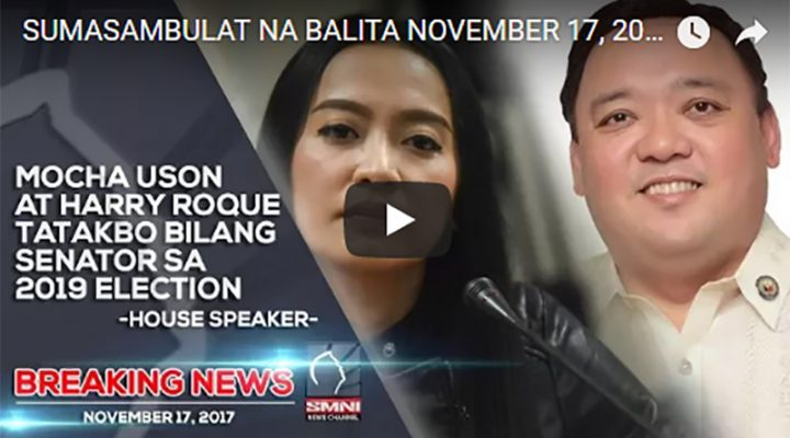Mocha Uson at Harry Roque tatakbo bilang Senator ng 2019 Election
