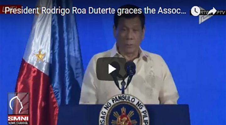 President Rodrigo Roa Duterte graces the Association of Southeast Asian Nations
