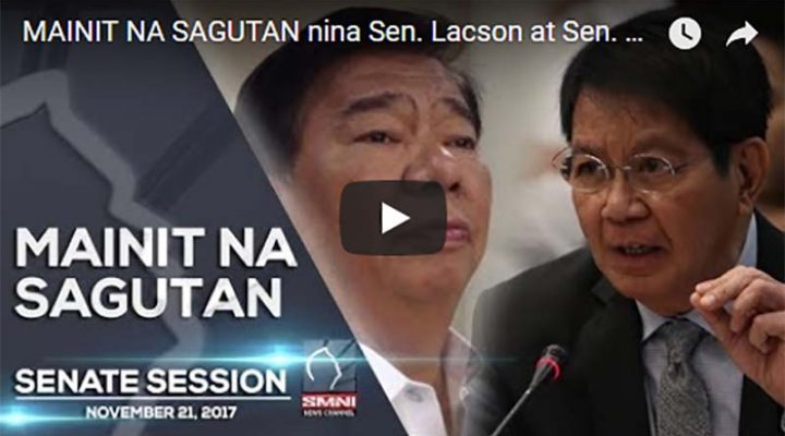 Mainit na sagutan nina Sen. Lacson at Sen. Drilon – Senate Session No. 32