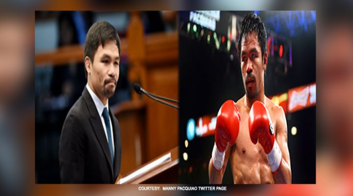 Bayan, prayoridad; boxing career, makapaghihintay