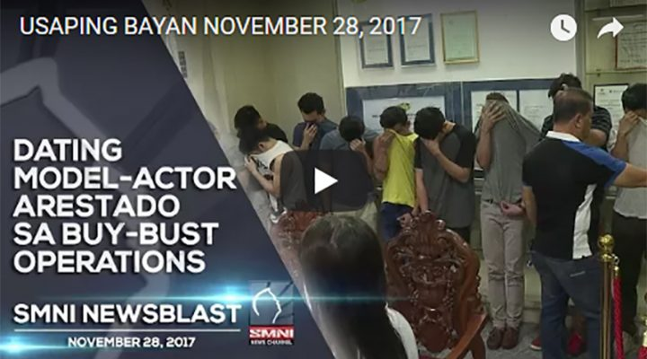 Dating Model-Actor arestado sa buy-bust operation