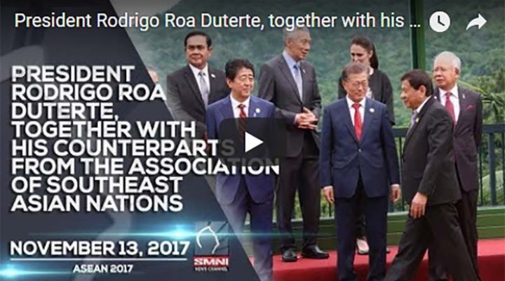 Pres. Rodrigo Roa Duterte, together with his counterparts from the Association of Southeast Asia