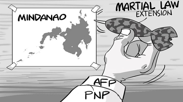 Martial law extension sa Mindanao?