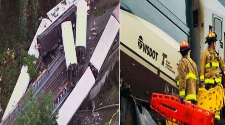 3 katao, patay habang 100 sugatan sa train crash sa Washington
