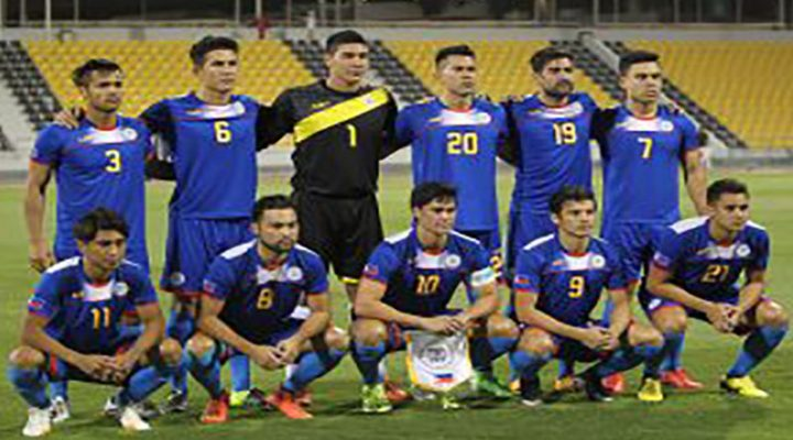 Philippine Azkals target ang 2019 AFC Asian Cup Qualifiers