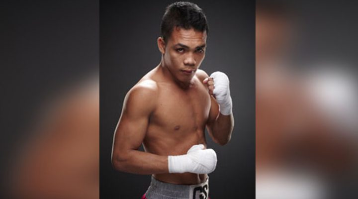 Filipino Boxer Servania, nasa top rank na