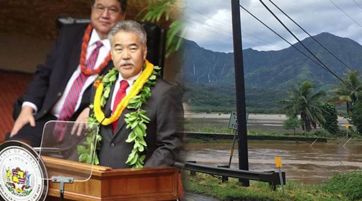Hawaii Gov. David Ige, nanawagan ng emergency response