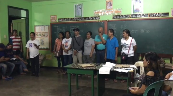 Bagong barangay officials frontline sa war on drugs