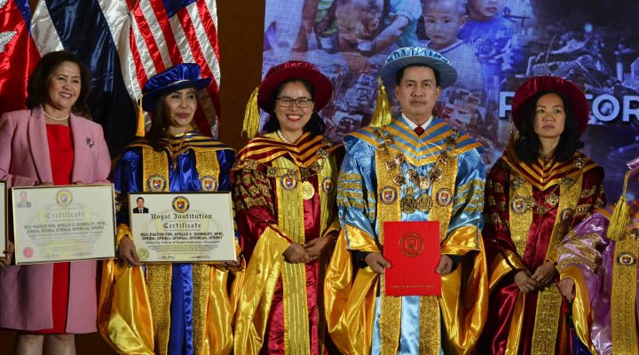 Pastor Apollo, highlights the Special Global Convocation and Conferment Ceremony of Royal Institution Singapore