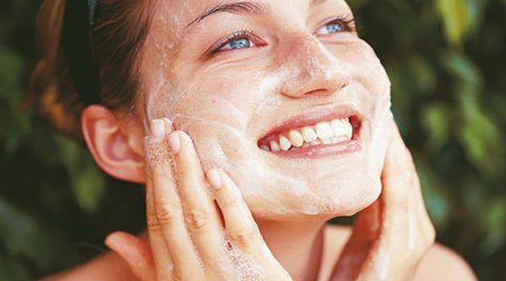 DIY black heads remover at facial mask-in-one