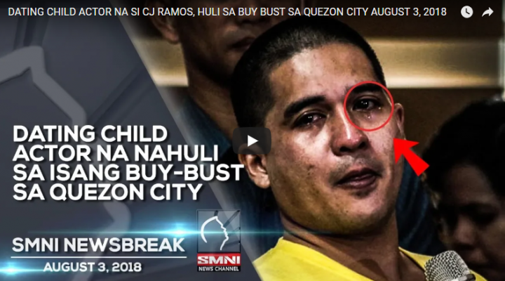 Dating child actor na nahuli sa isang buy-bust sa Quezon City