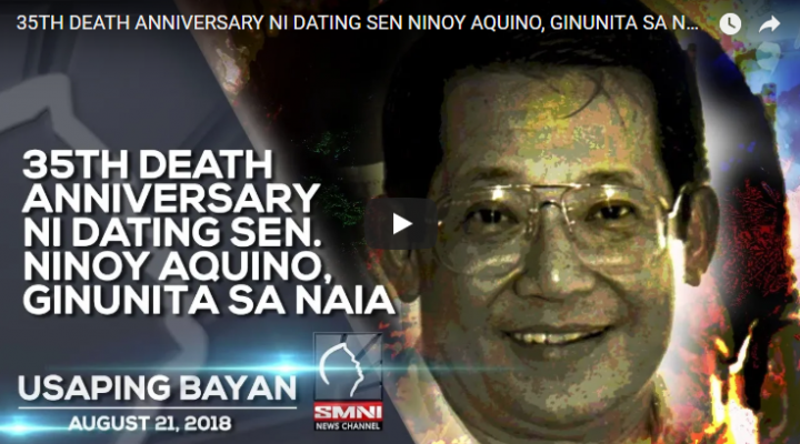 35th death anniversary ni dating Sen. Ninoy Aquino, ginunita sa NAIA