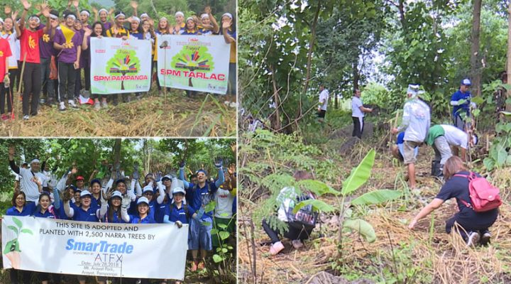 SMNI, gov't agencies at private sector, nagkaisa sa i-Shine Tree Planting Activity