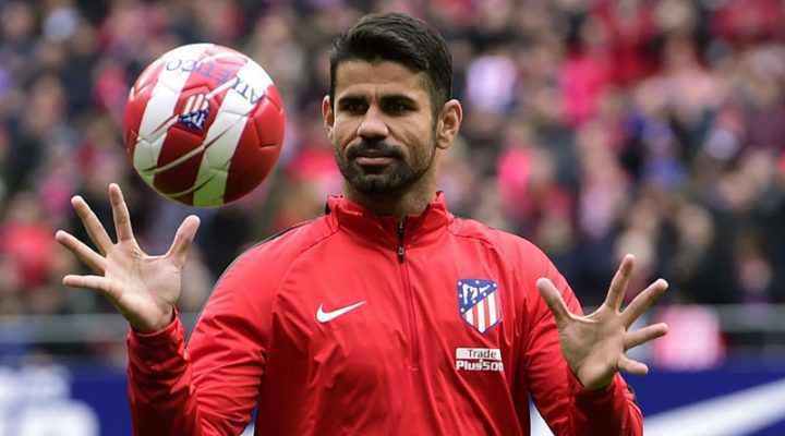 Atletico Footballer Diego Costa sasailalim Sa isang foot surgery