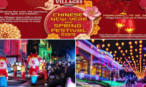 Chinese New Year Celebration at the Villages