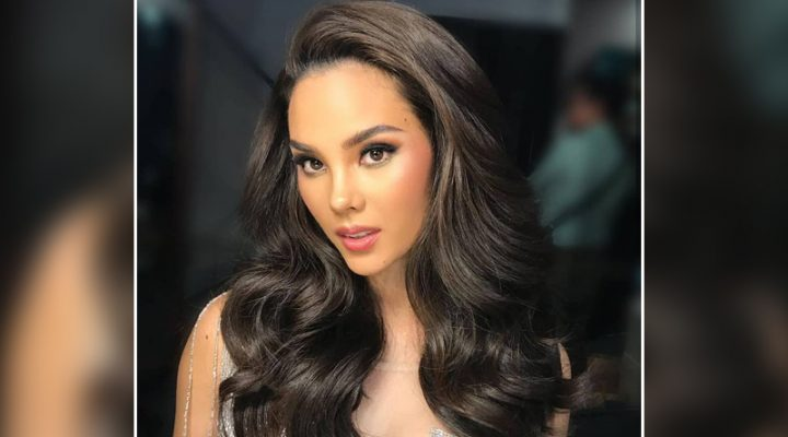 Ms. Universe 2018 Catriona Gray, dumalo sa NFL honors