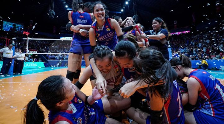 Arellano, three-peat champs ng NCAA Women's Volleyball