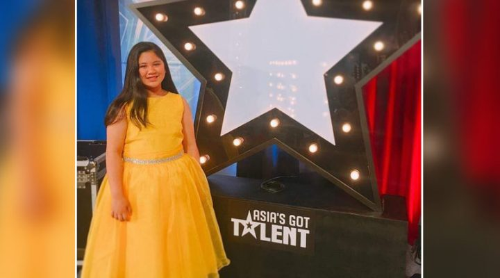 10 year-old Pinay, nakakuha ng Golden Buzzer sa Asia's Got Talent