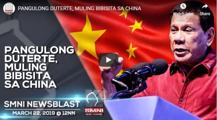 Pangulong Duterte, muling bibisita sa China