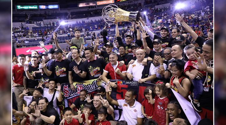 San Miguel Beermen, nasungkit ang 5th straight PBA Philippine Cup Final