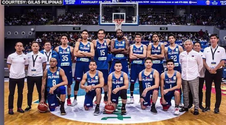 Gilas Pilipinas, makakatapat ang Australian Club Adelaide 36ers sa tune up games sa 2019 FIBA World Cup