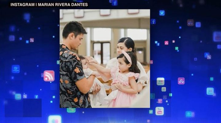 Baby Ziggy nina Marian at Dingdong Dantes, bininyagan na