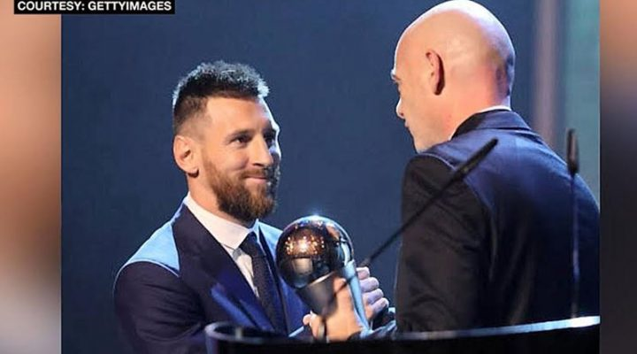 Messi at Rapinoe, itinanghal na FIFA Player of the Year Awardees