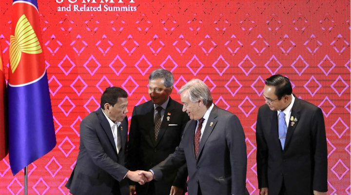 ASEAN Summit: 'Friends to all, enemies to none' policy, ipatutupad ni Pang. Duterte