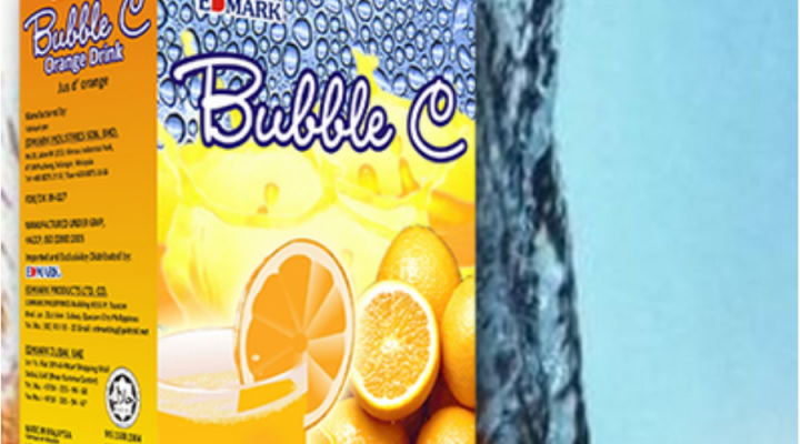 Bubble C: Sagana sa bitamina C at Calcium
