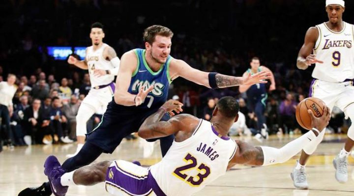 Dallas Mavericks, tinapos ang 10-game winning streak ng Los Angeles Lakers