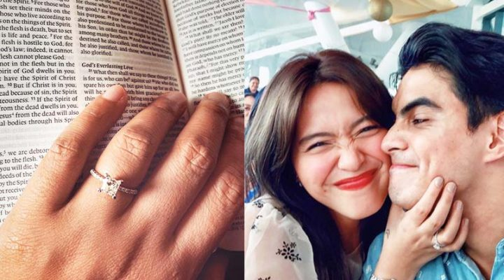 Joyce Pring at Juancho Trivino, engaged na!