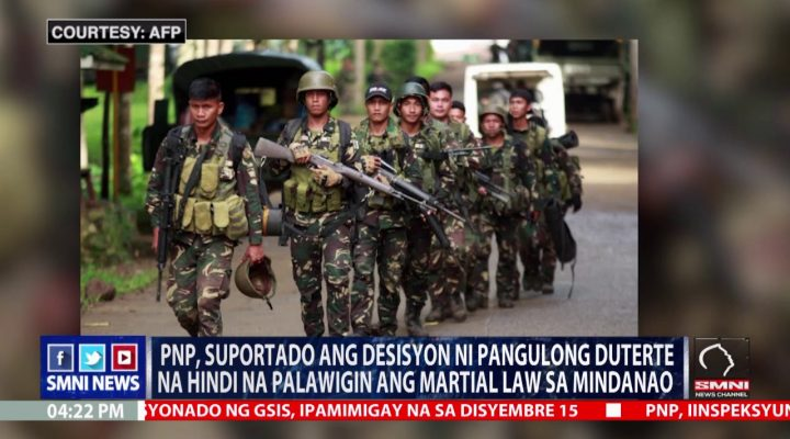 Martial law sa Mindanao hindi na palalawigin – PRRD