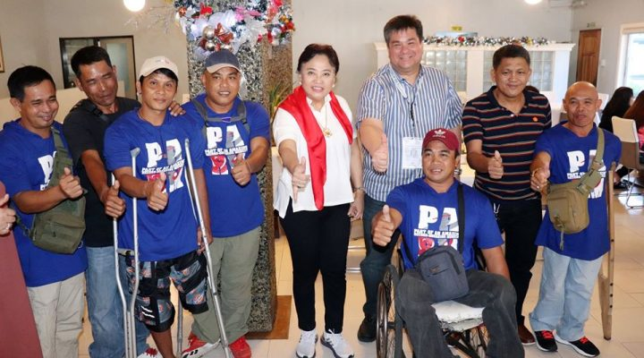 Mga atletang differently-abled ng Negros Occidental lalahok sa 10th ASEAN Para Games